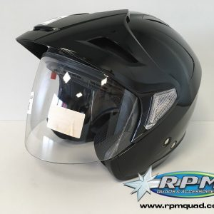 Casque KENNY Evasion Noir brillant XS
