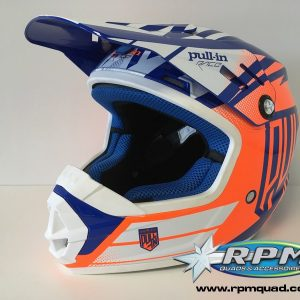 Casque enfant PULL-IN enfant Bleu/Orange S