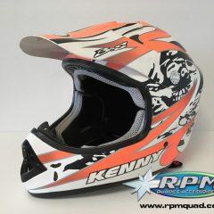 Casque KENNY Track Orange fluo XL