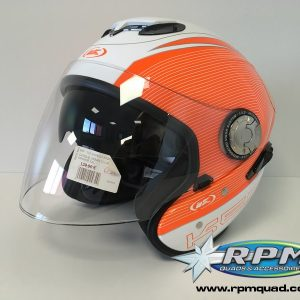 Casque KENNY urban orange/blanc XXL